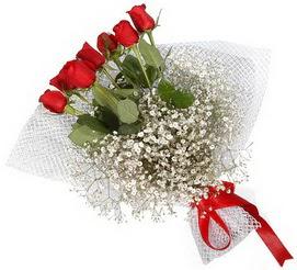 7 adet essiz kalitede kirmizi gül buketi  Şırnak çiçek mağazası , çiçekçi adresleri