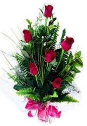 Şırnak çiçek yolla , çiçek gönder , çiçekçi   5 adet kirmizi gül buketi hediye ürünü
