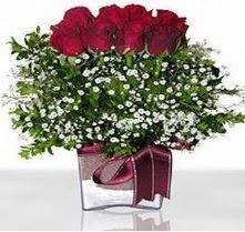 Şırnak çiçek siparişi vermek  mika yada cam vazo içerisinde 7 adet gül