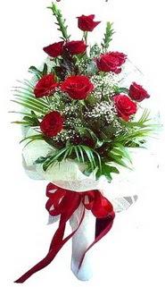 Şırnak çiçek siparişi sitesi  10 adet kirmizi gül buketi demeti