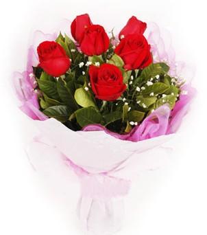 Şırnak çiçek mağazası , çiçekçi adresleri  kırmızı 6 adet gülden buket