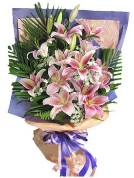 7 dal kazablankadan görsel buket  Şırnak online çiçekçi , çiçek siparişi