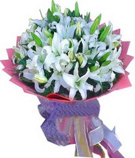 7 dal cazablanca görsel buketi  Şırnak çiçekçiler