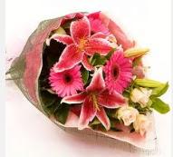 1 dal kazablanka ve mevsim çiçekleri  Şırnak cicek , cicekci