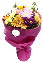 1 demet karışık görsel buket  Şırnak çiçek servisi , çiçekçi adresleri