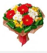 1 demet karışık buket  Şırnak çiçek mağazası , çiçekçi adresleri
