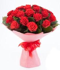 15 adet kırmızı gülden buket tanzimi  Şırnak internetten çiçek siparişi