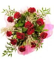 12 adet kırmızı gül buketi  Şırnak çiçek online çiçek siparişi