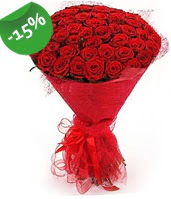 51 adet kırmızı gül buketi özel hissedenlere  Şırnak internetten çiçek siparişi