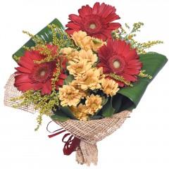 karışık mevsim buketi  Şırnak çiçekçiler