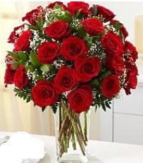 Vazo içerisinde 33 adet kırmızı gül  Şırnak 14 şubat sevgililer günü çiçek