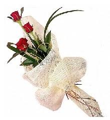 3 adet kırmızı gül buketi  Şırnak çiçek yolla , çiçek gönder , çiçekçi