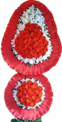 Şırnak uluslararası çiçek gönderme  Çift katlı kaliteli düğün açılış sepeti