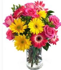 Vazoda Karışık mevsim çiçeği  Şırnak çiçekçiler