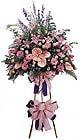 Şırnak çiçek yolla , çiçek gönder , çiçekçi    Ferforje Pembe kazablanka