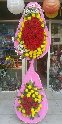 Çift katlı düğün nikah açılış çiçek modeli  Şırnak online çiçek gönderme sipariş