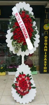 Çift katlı düğün nikah çiçeği modeli  Şırnak internetten çiçek siparişi