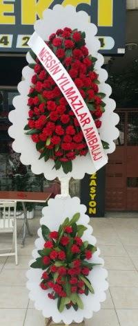 Çift katlı düğün nikah çiçeği modeli  Şırnak internetten çiçek satışı