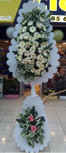 Çift katlı düğün nikah açılış çiçeği  Şırnak ucuz çiçek gönder