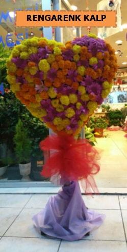Ankara mevsim çiçeklerinden kalp perförje  Şırnak ucuz çiçek gönder