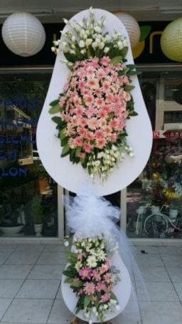 Çift katlı özel şahane sepet çiçeği  Şırnak ucuz çiçek gönder
