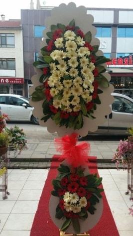Çift katlı düğün açılış çiçeği  Şırnak hediye çiçek yolla