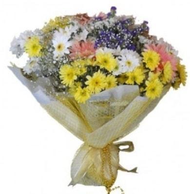 Karışık mevsim çiçeği  Şırnak hediye çiçek yolla