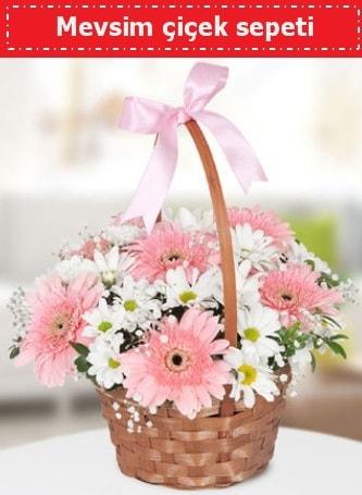 Mevsim kır çiçek sepeti  Şırnak çiçekçi mağazası